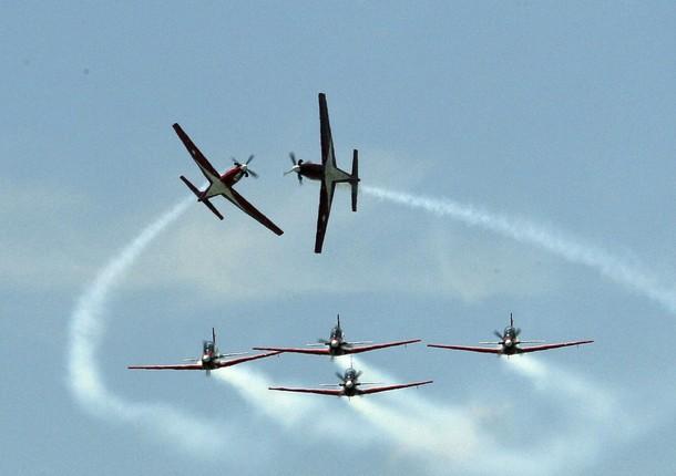Menhan Malaysia Puji Tim Jupiter Aerobatic Team Indonesia