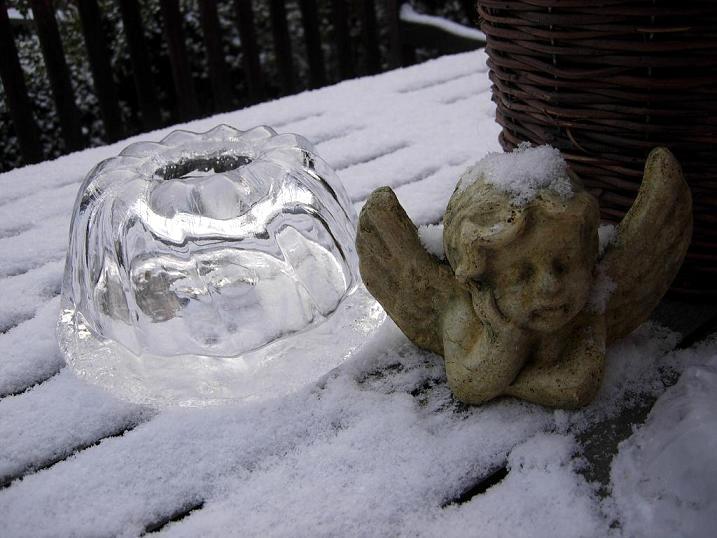 Gartendeko blog eiskuchen und eislaternen for Gartendeko winter