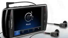 music player blackberry