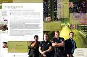 """Southland"" TV Find ""delight!"" magazine story by Chris Mann"