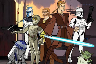 Star Wars 7 animated