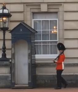 Lawak Bodoh Pengawal Istana Buckingham di Siasat