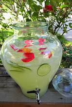 Limeade & Flowers