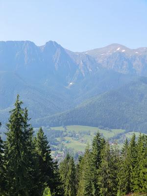 Vistas a los Tatra desde Gubałówka, Zakopane