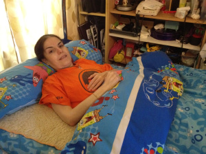 Arancha chica canaria paraplejica