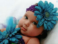 Baby Pictures With Flowers Dress - Baby Images