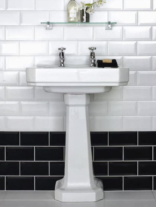 1940s bathroom in praise of subway tile for Bathroom ideas 1940