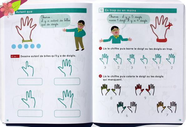Les bons conseils : Apprendre à calculer avec ses doigts - La Librairie des Écoles