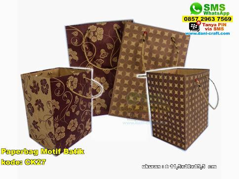 Paperbag Motif Batik