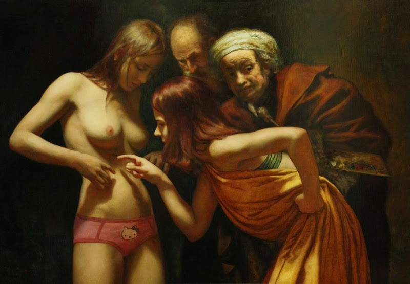 D.W.C. New Nude - Painter Cesar Santos