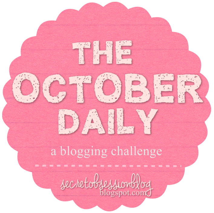 Grab button for October Daily