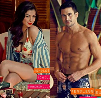 Folded and Hung Summer 2013 Campaign Photos - Angel Locsin and Sam Milby