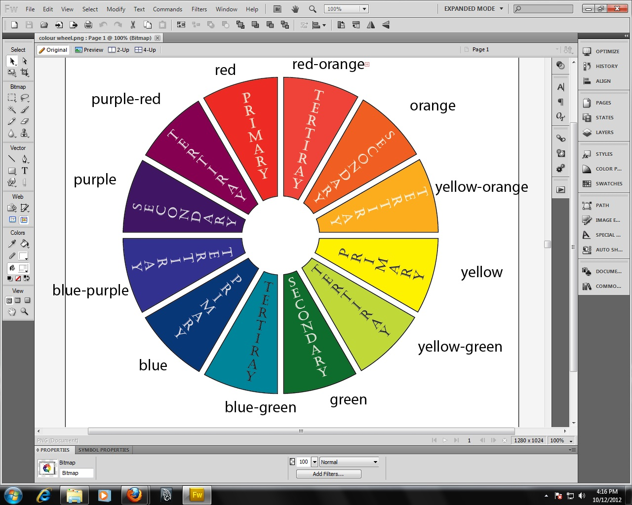 Extrovert Allowed Adobe Illustrator Colour Wheel