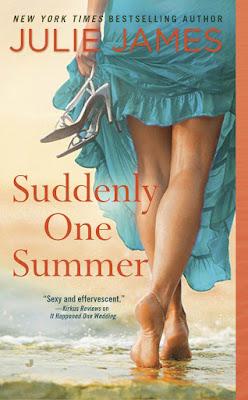 julie james, suddenly one summer, book reviews