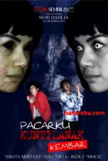 """Nikita Mirzani dalam film """"Pacarku Kuntilanak Kembar"""" (2012)"""