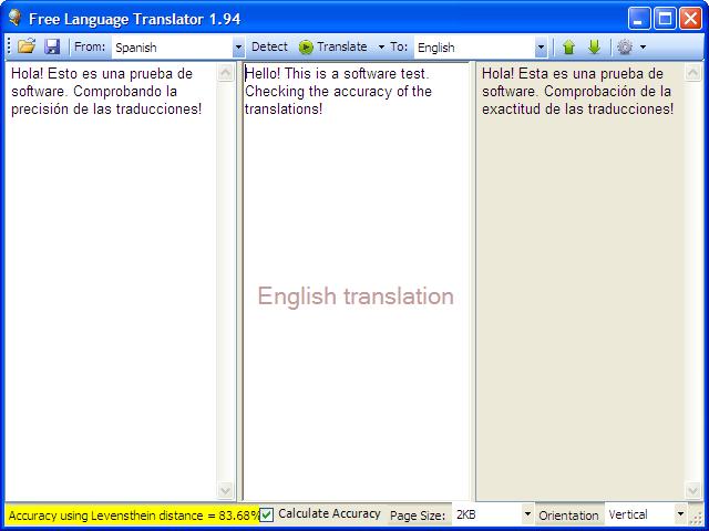 تنزيل برنامج الترجمة المجاني Free Language Translation