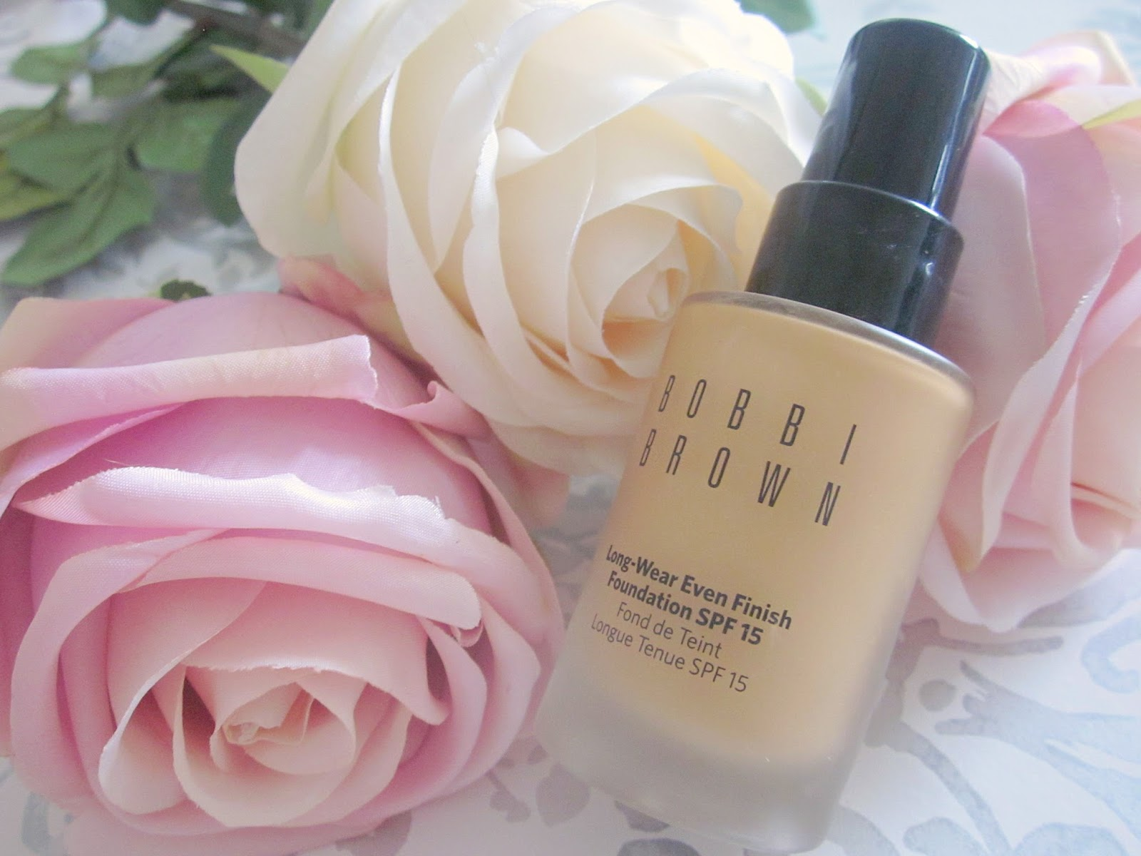 Bobbi Brown longwear foundation warm natural