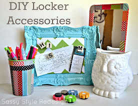 DIY Locker Accessories-Round 1