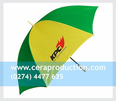 Souvenir Payung Promosi Standar - KPC - ceraproduction
