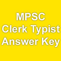 MPSC Clerk Typist Exam Answer Key 2015