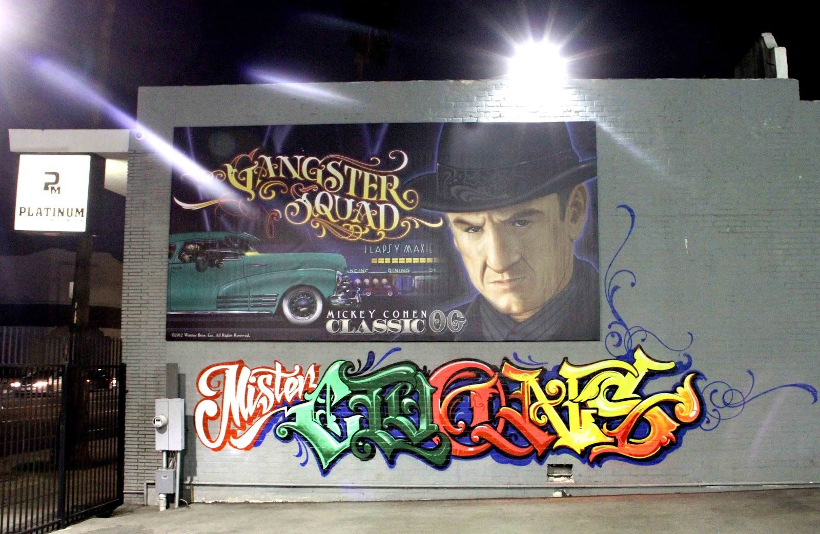 > Mister Cartoon Unveils Custom Billboard For Upcoming 'Gangster Squad' Movie - Photo posted in The TV and Movie Spot | Sign in and leave a comment below!
