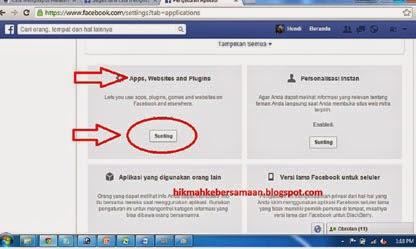 enable setting konten yang mengganggu di facebook