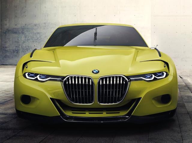 BMW 3.0CSLオマージュ キドニーグリル