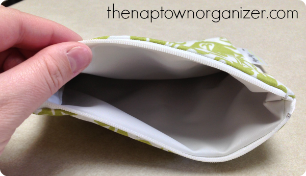 reusable snack bag, eco friendly, green living