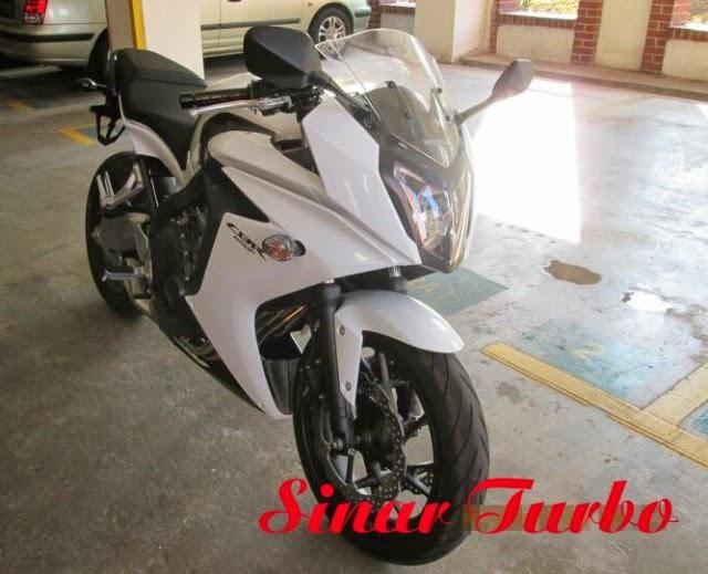 Honda CBR650F 2014 dan Honda CB650F 2014 Motor Malaysia.