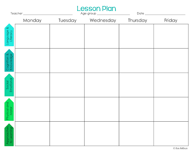 lesson planning book template