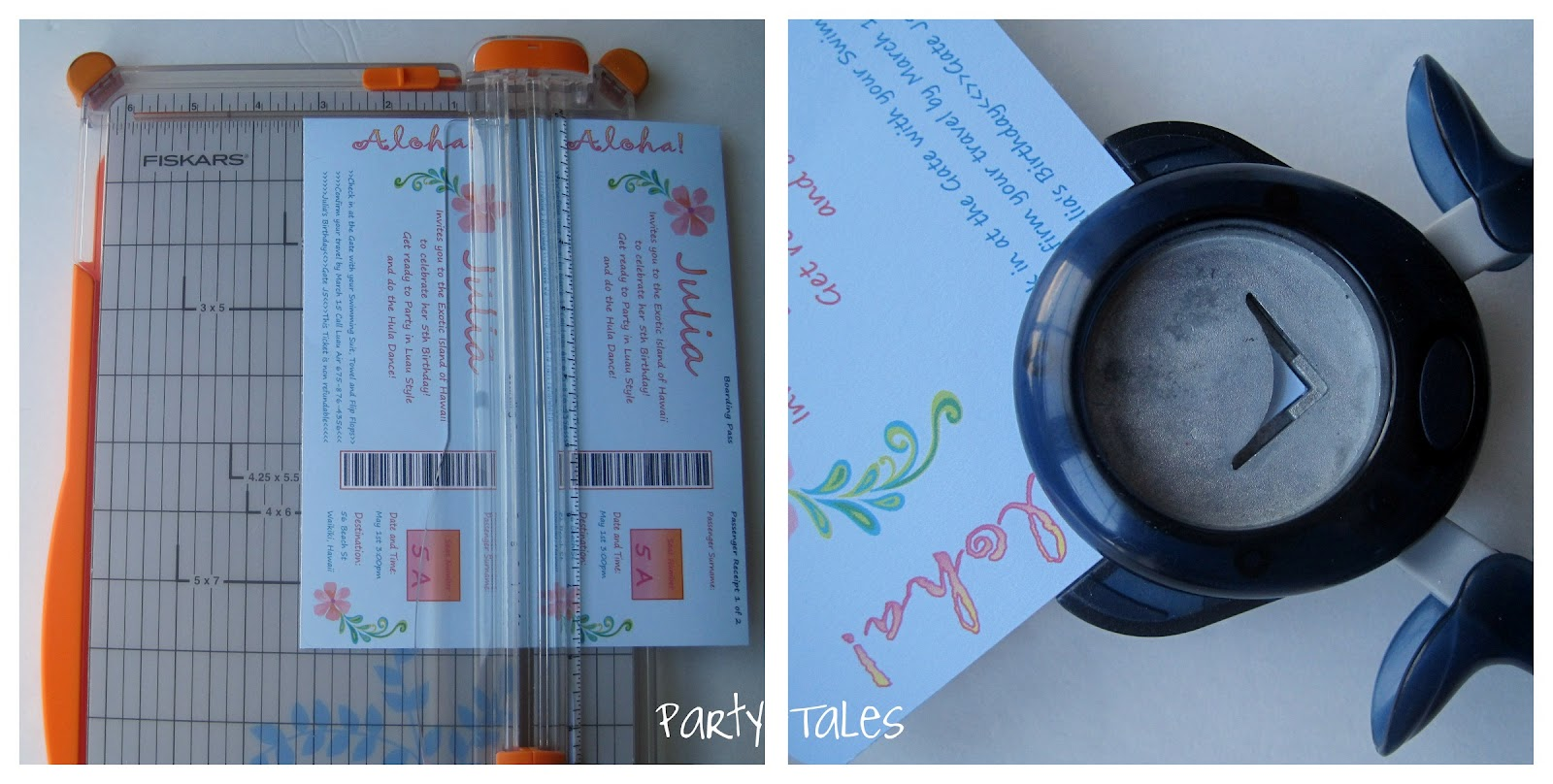 Party tales tutorial diy how to make a boarding pass invitation tutorial diy how to make a boarding pass invitation stopboris Image collections