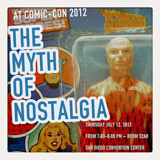 Curio and Co. Curio & Co. www.curioanco.com - SDCC San Diego Comic Con panel - The Myth of Nostalgia with Peter Maresca, R. C. Harvey, Grant Geissman, Cesare Asaro, Kirstie Shepherd