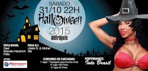 Halloween Clube Metrópole com Inês Brasil esgota ingressos antecipados
