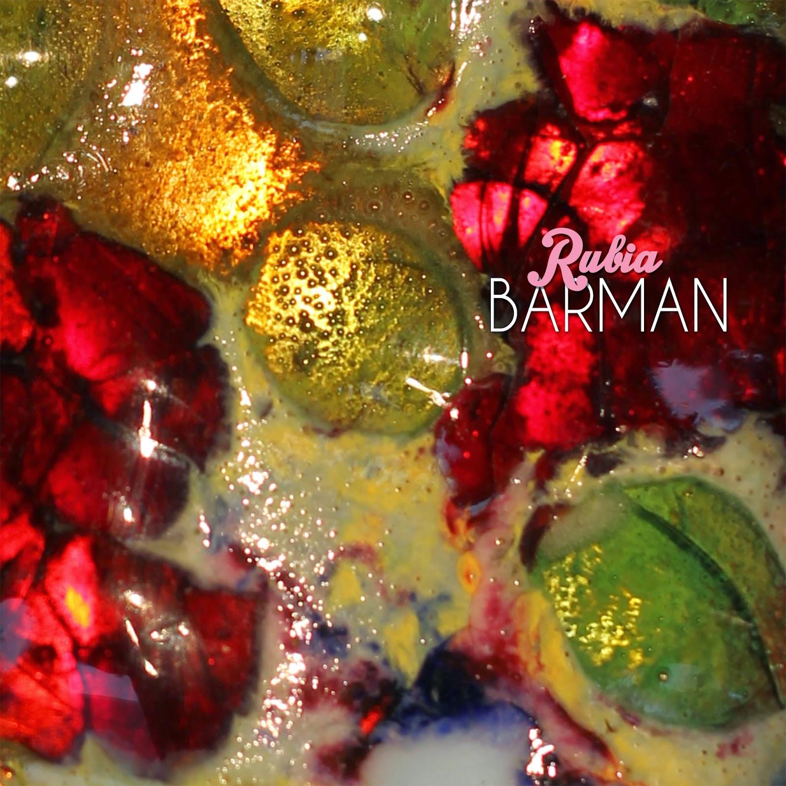 portada BARMAN disco RUBIA