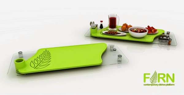 Creative Serving Trays and Platters (15) 6