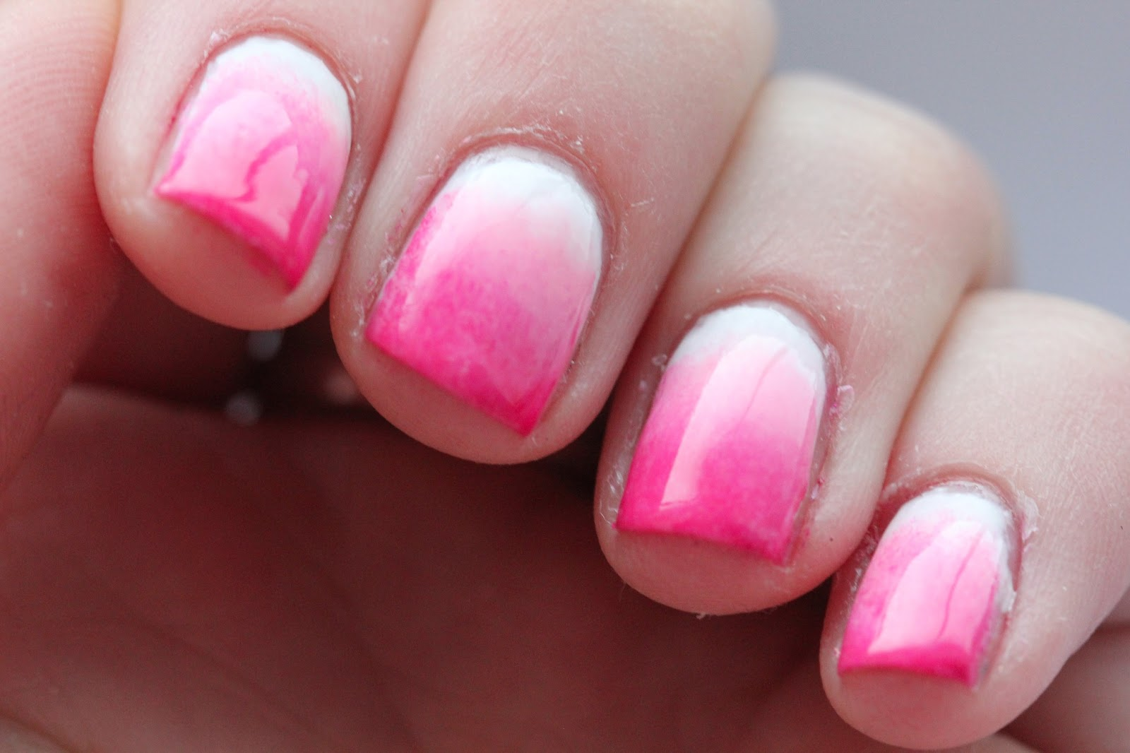 Fundamentally Flawless: Pink Gradient Nails