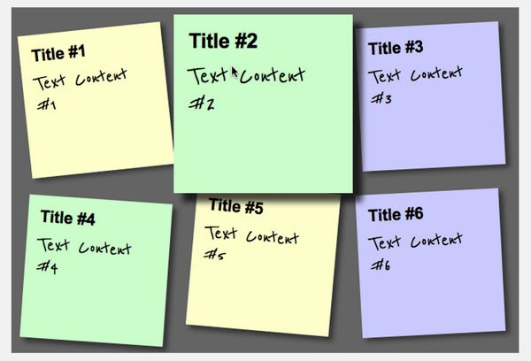 A Sticky Note Effect in 5 Easy Steps with CSS3 and HTML5
