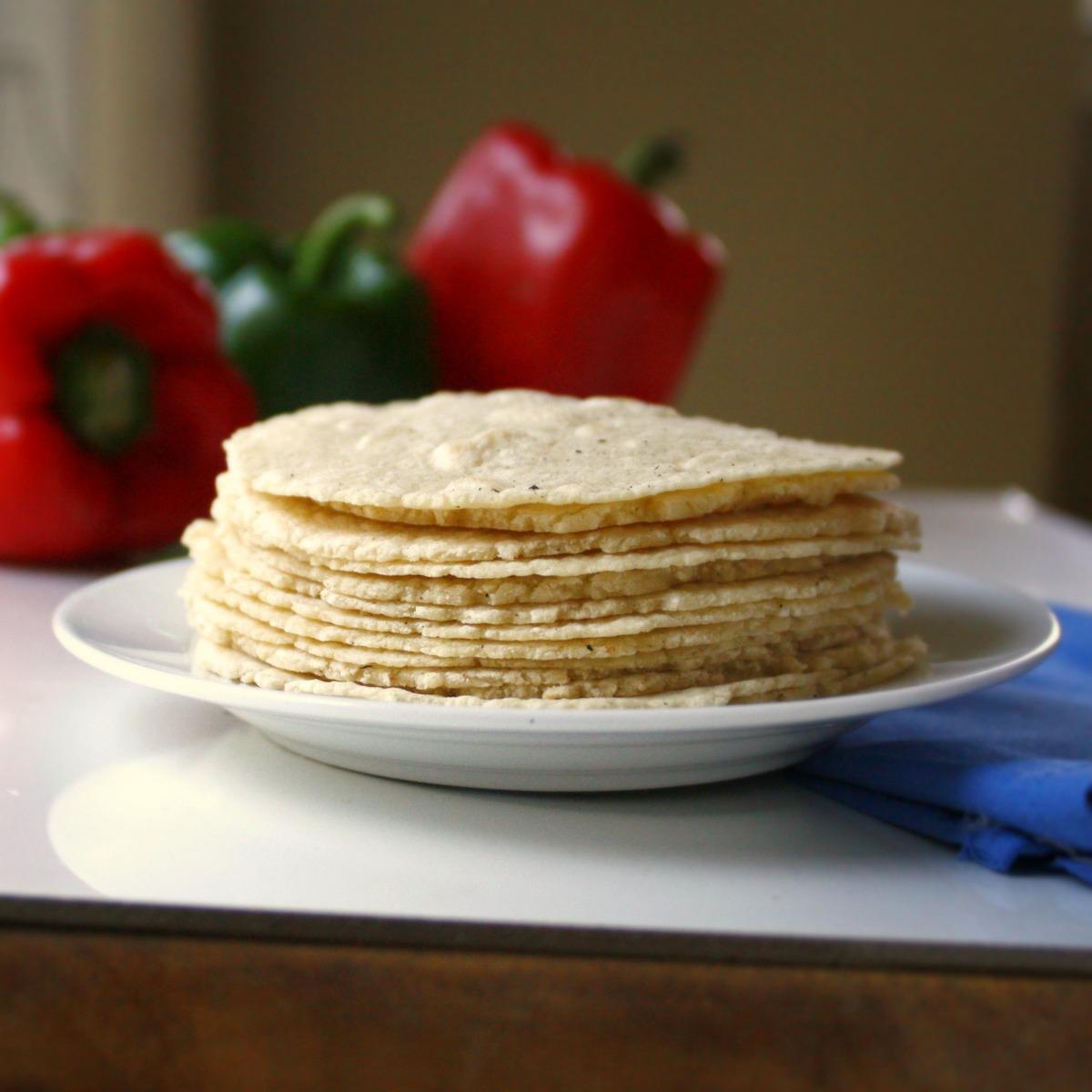 Homemade Corn Tortillas Recipe — Dishmaps