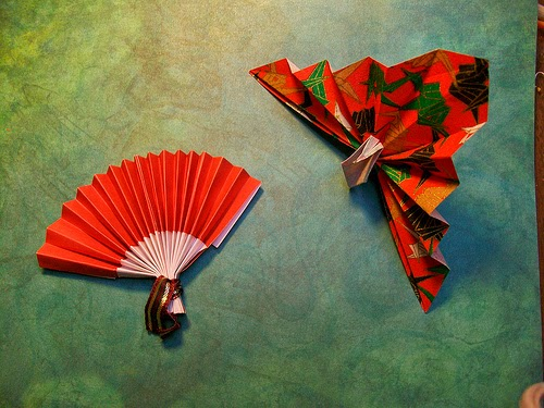Origami Fan Instructions Origami Kids