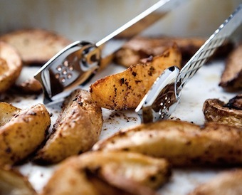 potato wedges with spices