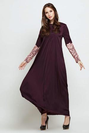 Re stock Prada Lace Jubah Nursing friend Ada Zip Di Dada Dengan Pelbagai Warna Menawan