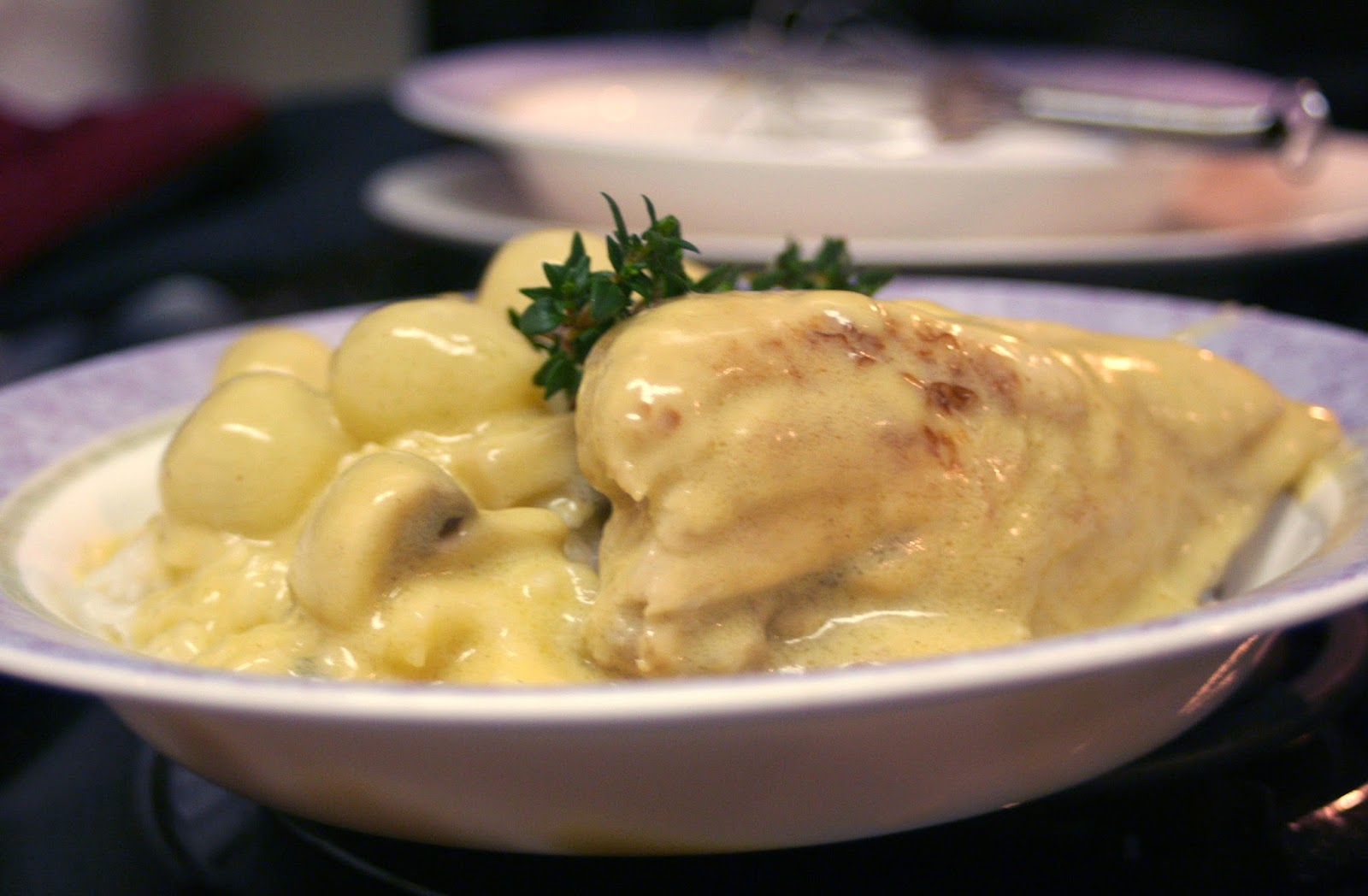 Old-fashioned Chicken Fricasse With Wine-flavored Cream ...