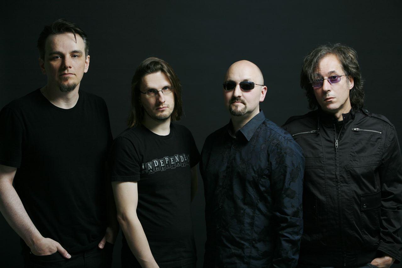 Porcupine Tree en una imagen promocional del que hasta ahora es su último disco. The Incident