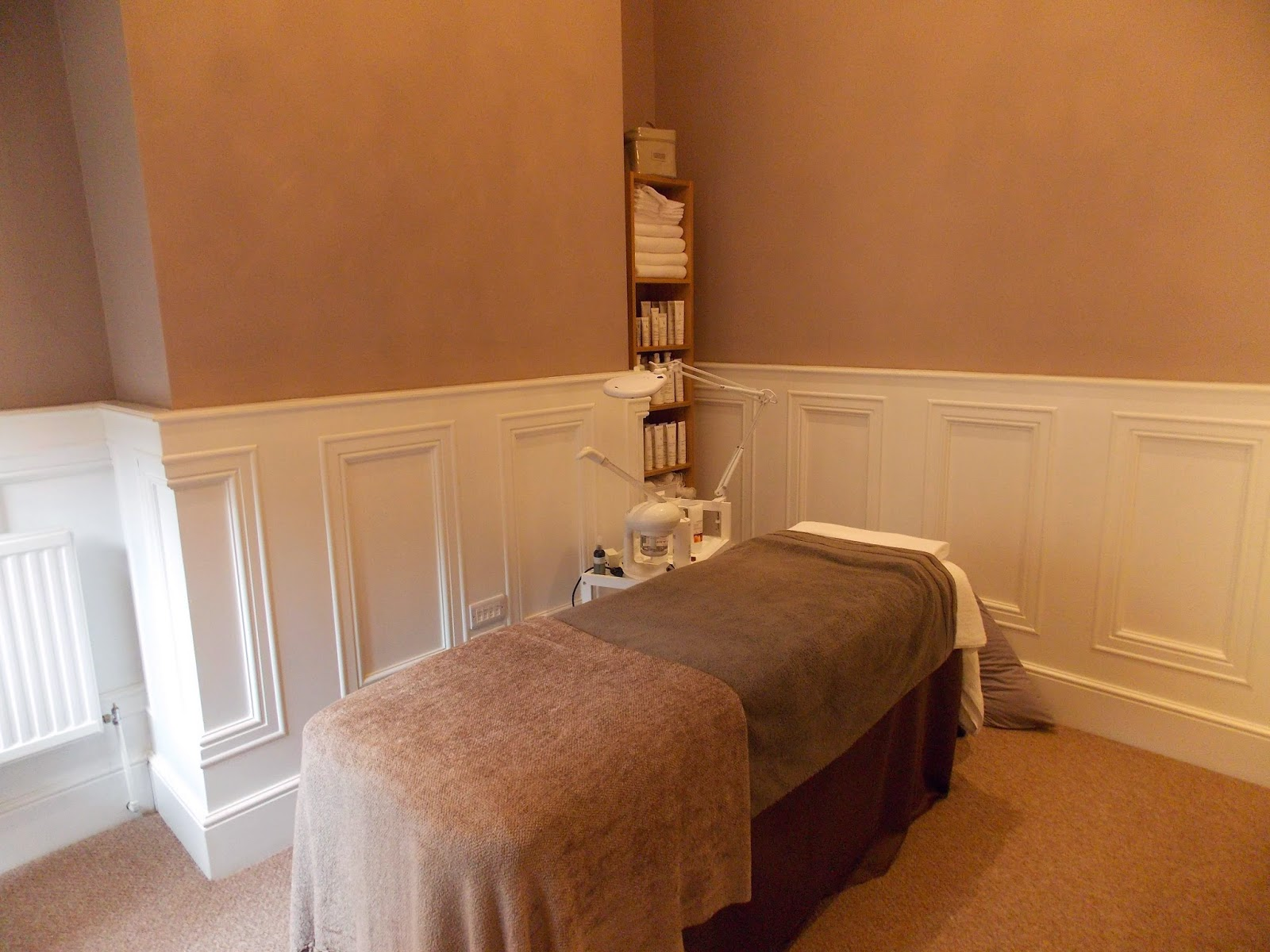 Treatment Room - Angela Parkinson Facials