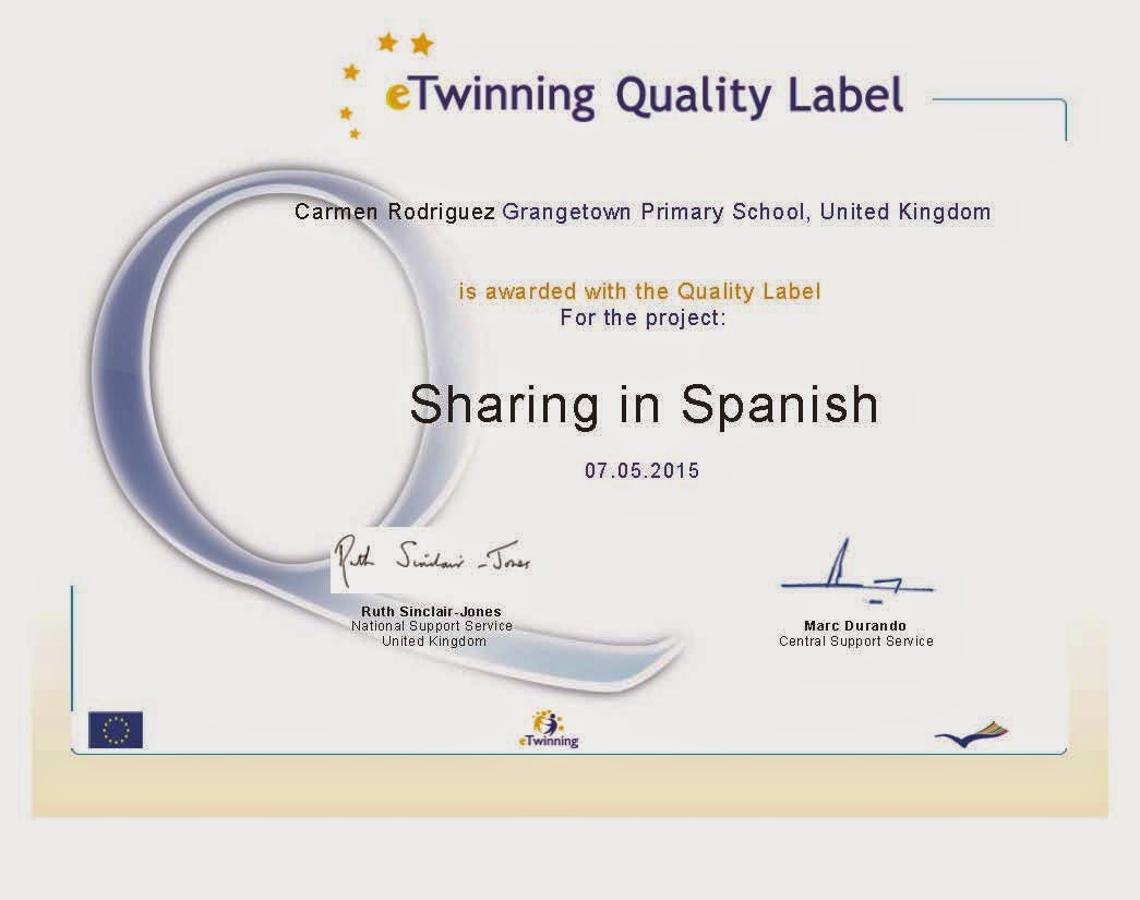 'QUALITY LABEL' 2015