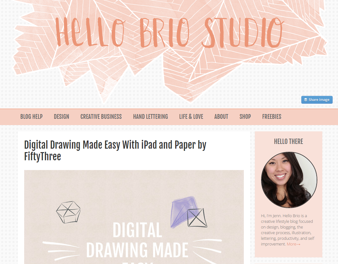 Hello Brio Studio Blog