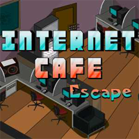 Juegos de Escape Internet Cafe Escape