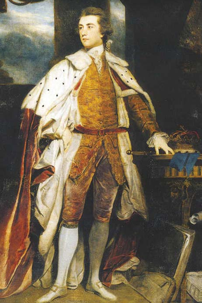 3rd Duke of Dorset, John Frederick Sackville by Reynolds (1745-99)