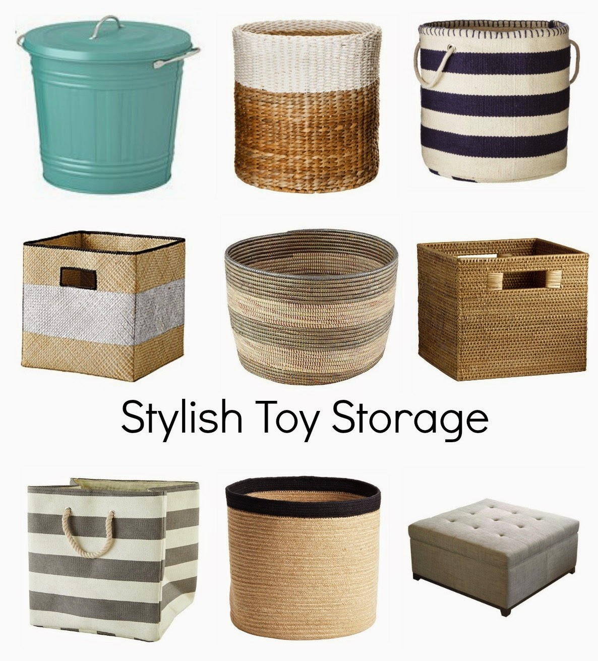 Decorating Cents Stylish Toy Storage