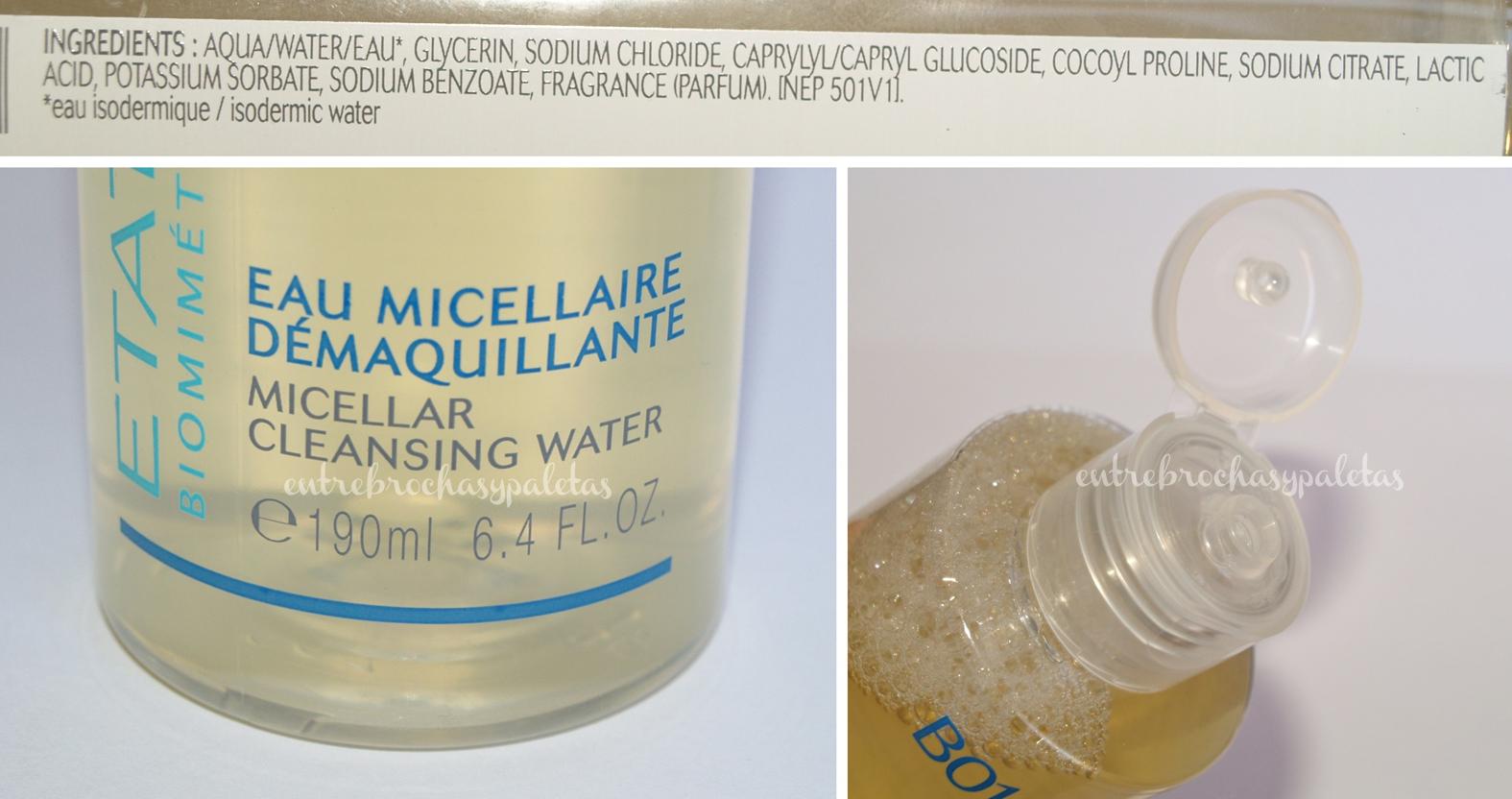 agua micelar etat pur
